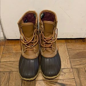 "Women's LL Bean 8"" Gore-Tex/Thinsulate Boots"